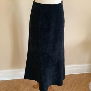 100% Swede leather skirt